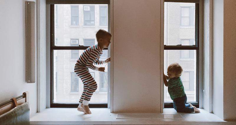 Keret az ablaknak – a kreatív ablakpárkányok
