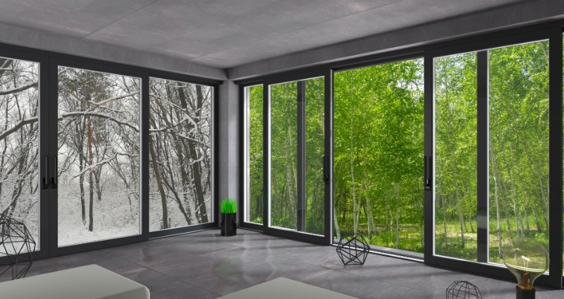 természetre néző ablakok
